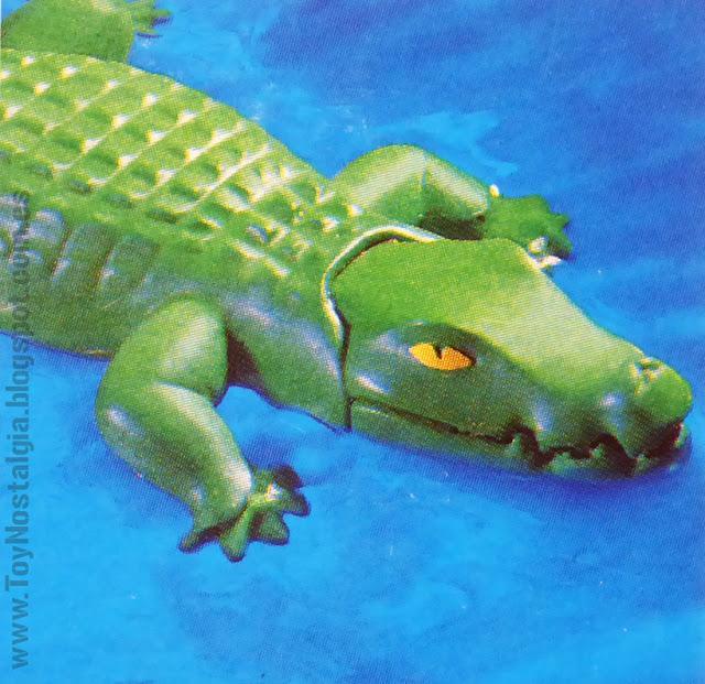 Playmobil 3088 Explorador con Cocodrilo Ravine Alligator