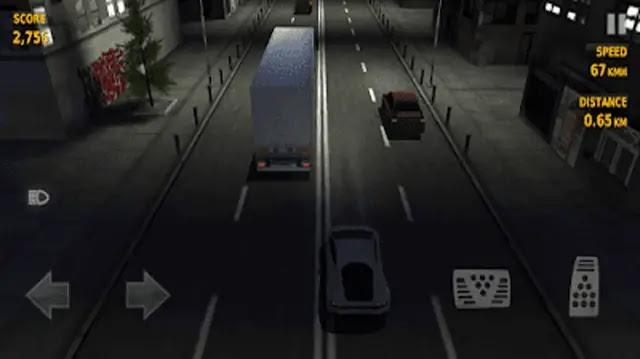 تحميل لعبة traffic racer  من ميديا فاير