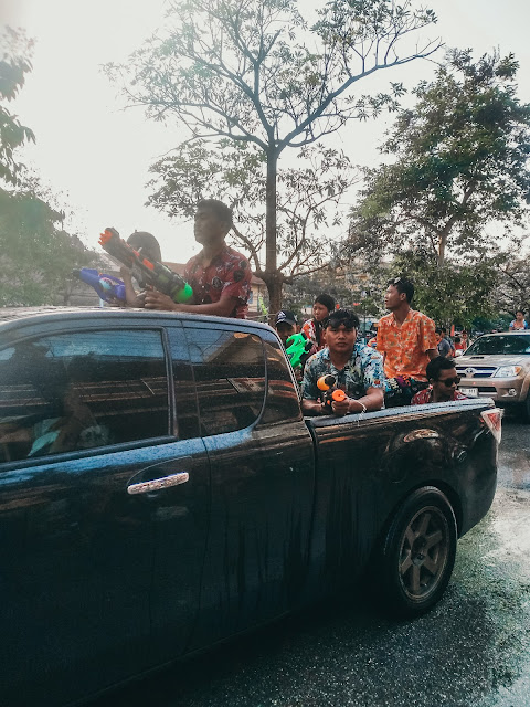 tajski festiwal wody | Songkran | Chiang Mai