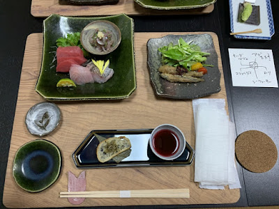 桜田温泉の夕食