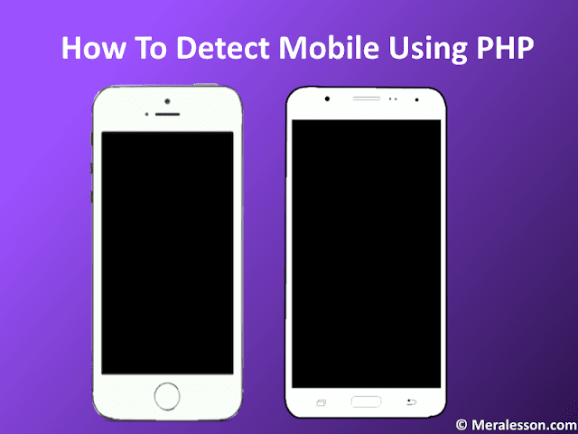 Detect Mobile Devices Using PHP Class