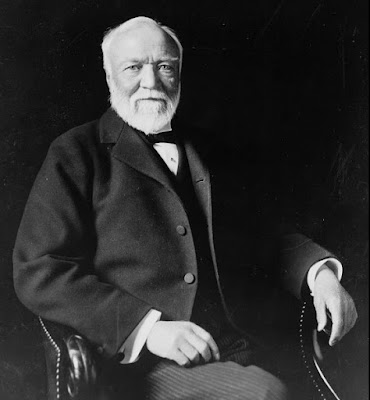 the world's richest tycoon who donated all owned (or) Andrew Carnegie
