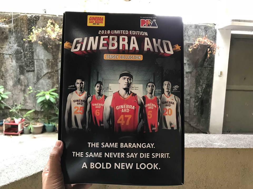 To avail of the 2018 Limited Edition Ginebra Ako Jersey Collection c2ab94794