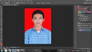Cara membuat pas foto berwarna