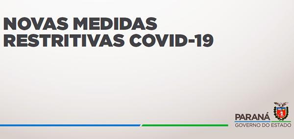 Decreto 6.983/2021 impõe lockdown no Paraná