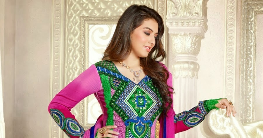 Hansika Motwani Cute Salwar Kameez