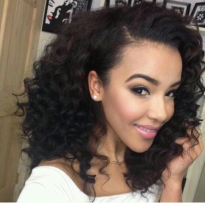 Awe Inspiring 8 Simple But Beautiful Weave Hairstyles For Black Women Hairstylo Hairstyle Inspiration Daily Dogsangcom