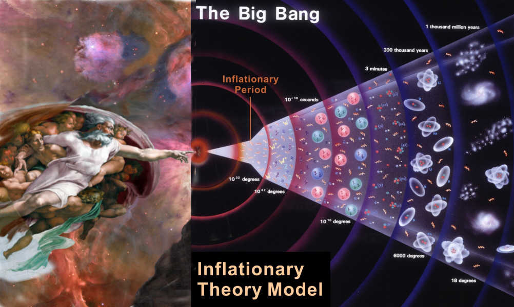 """the big bang theory kills god The big bang theory is not necessarily a knock against creationism the fact that the earth came into existence by an explosion is not so far removed from god's words in genesis, """"let there."""
