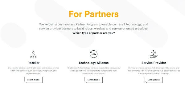 Cradlepoint apresenta novo portal para parceiros para otimizar a interação com o cliente e implementação do 5G e Wireless WAN