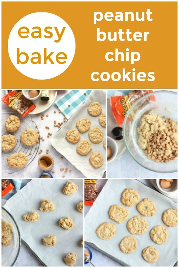 easy bake peanut butter chip cookies