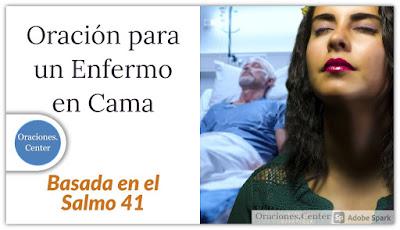 Oración para un Enfermo en Cama
