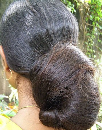 indian long hair girls indian long hair girls with huge bun