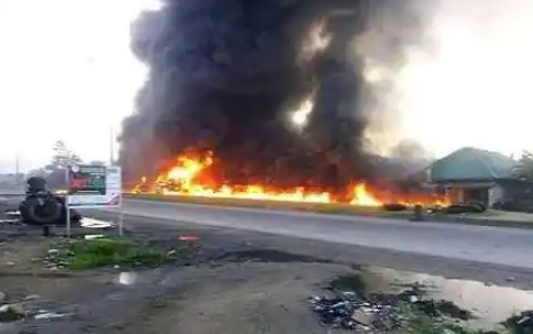 Many feared dead, as tanker explodes in Rivers state
