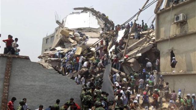 Ambruknya Pusat Perbelanjaan di Dhaka