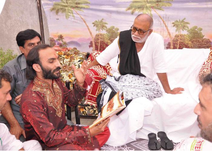 Sairam Dave with morari bapu