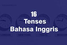 Cara Memahami Tenses Bahasa Inggris Tanpa Menghafal