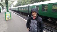 Dan Jon at Swanage Train Station