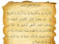 Bacaan Surat Al-Qaari'ah Dan Terjemaahannya Dalam Bahasa Indonesia