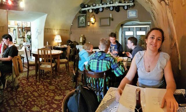 restaurante mandragora lublin interior