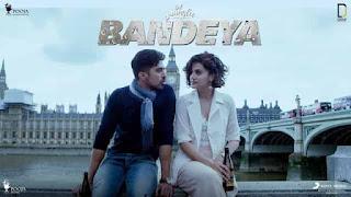 बंदेया Bandeya Lyrics In Hindi - Arijit Singh