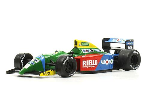Benetton B190 1990 Nelson Piquet f1 the car collection
