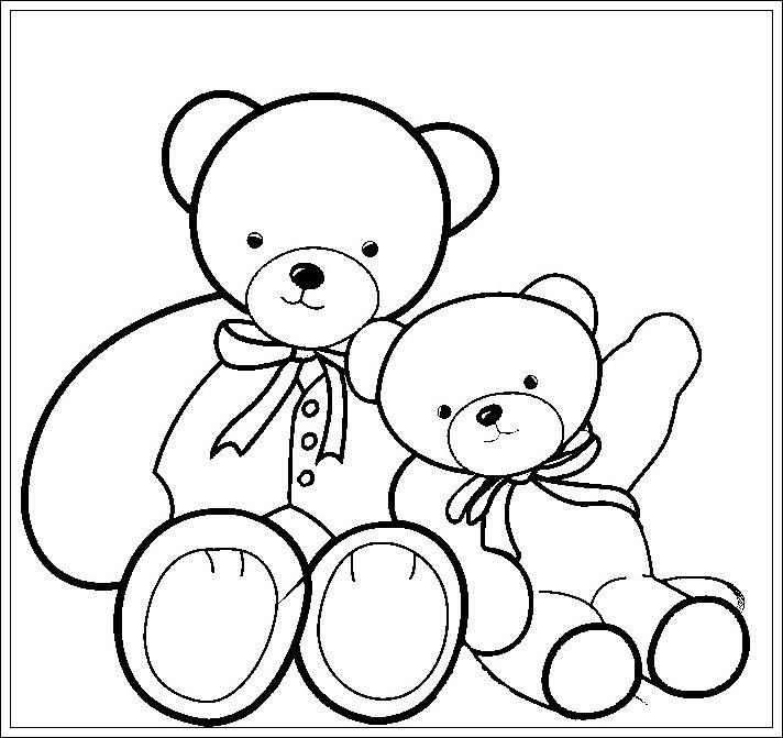 ausmalbilder zum ausdrucken ausmalbilder teddybär zum