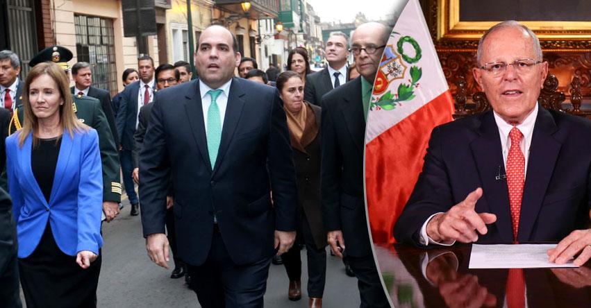 Sepa qué sigue tras el rechazo de la confianza al Gabinete Zavala