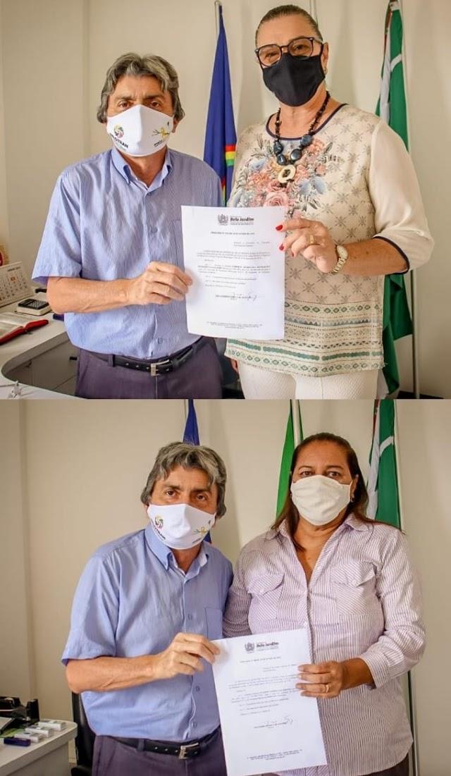 Carmen Peixoto assume secretaria de Educação e Luciene Gomes a Especial da Mulher de Belo Jardim