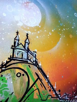 Resultado de imagem para Igreja da Penha - Rio de Janeiro ilustração