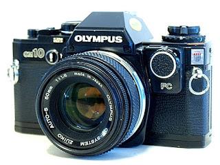 Olympus OM-10, Side Front