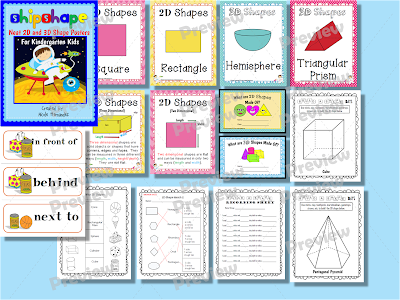 http://www.teacherspayteachers.com/Product/Shipshape-Neat-2D-and-3D-Shape-Posters-For-Kindergarten-Classrooms-969453