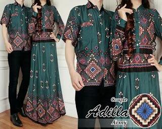 foto model baju batik keluarga