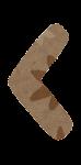 山括弧のイラスト文字(左)