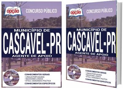 Apostila Prefeitura de Cascavel 2017 - Agente de Apoio