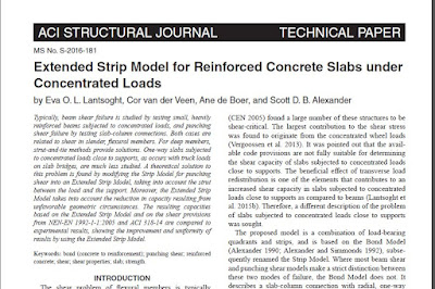Phd thesis on concrete slabs
