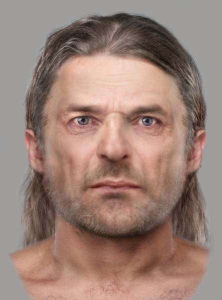 Face of ancient Pictish man digitally reconstructed