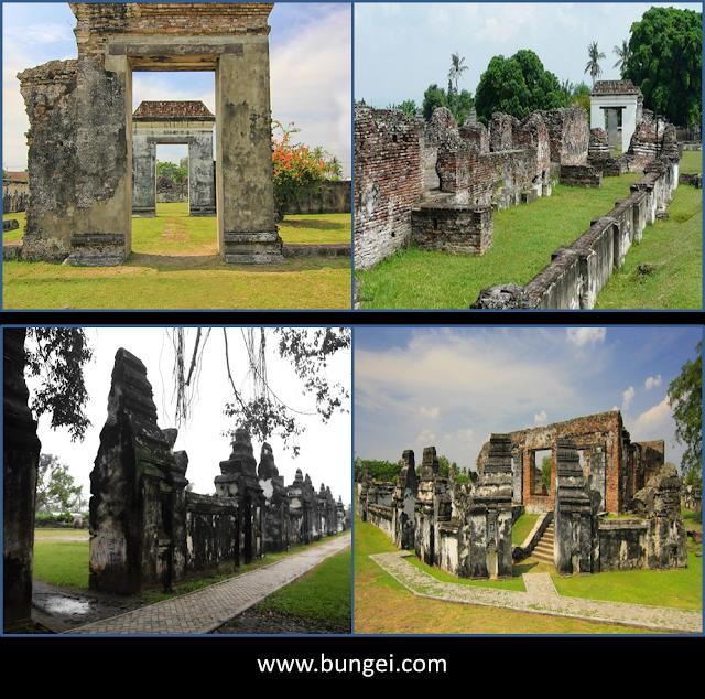 Hancurnya Keraton Kesultanan Banten