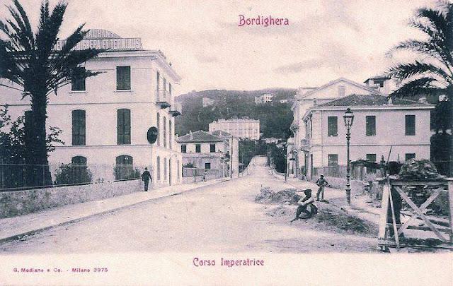 Corso Imperatrice Federico a Bordighera