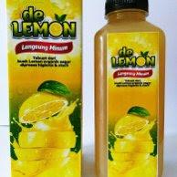 De Lemon Minuman Paling Bagus Untuk Diet