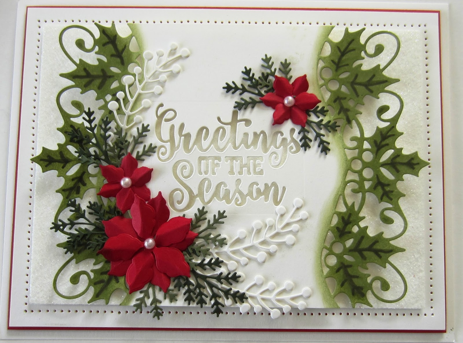 Particraft Participate In Craft Festive Greeting Card