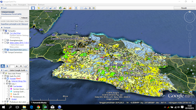 Tutupan Lahan KML di Google Earth