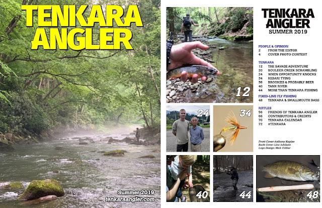 Tenkara Angler Magazine Summer 2019