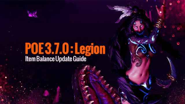 POE 3 7 0 - Item Balance Update Guide