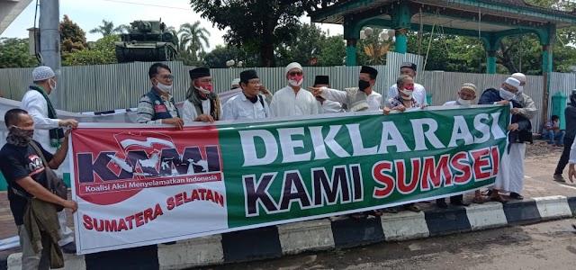 Deklarasi KAMI Sumsel Dilindungi Konstitusi Hak Berkumpul