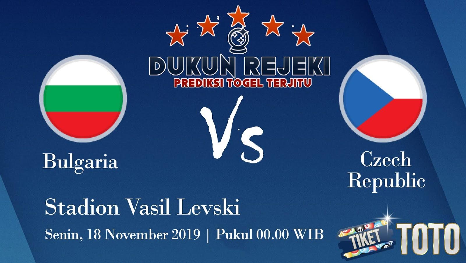 Prediksi Bulgaria vs Czech Republic 18 November 219