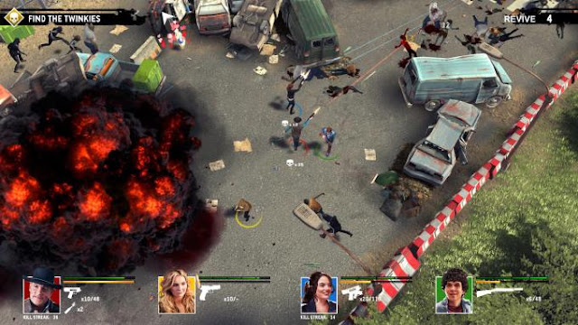 Zombieland Double Tap Road Trip is an adventure action based on the events of the Zombieland movie.