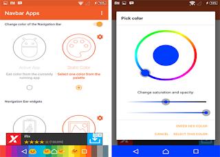 cara mengubah tampilan navbar di android tanpa root