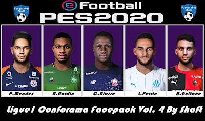 PES 2020 Ligue1 Conforama Facepack Vol. 4 by Shaft
