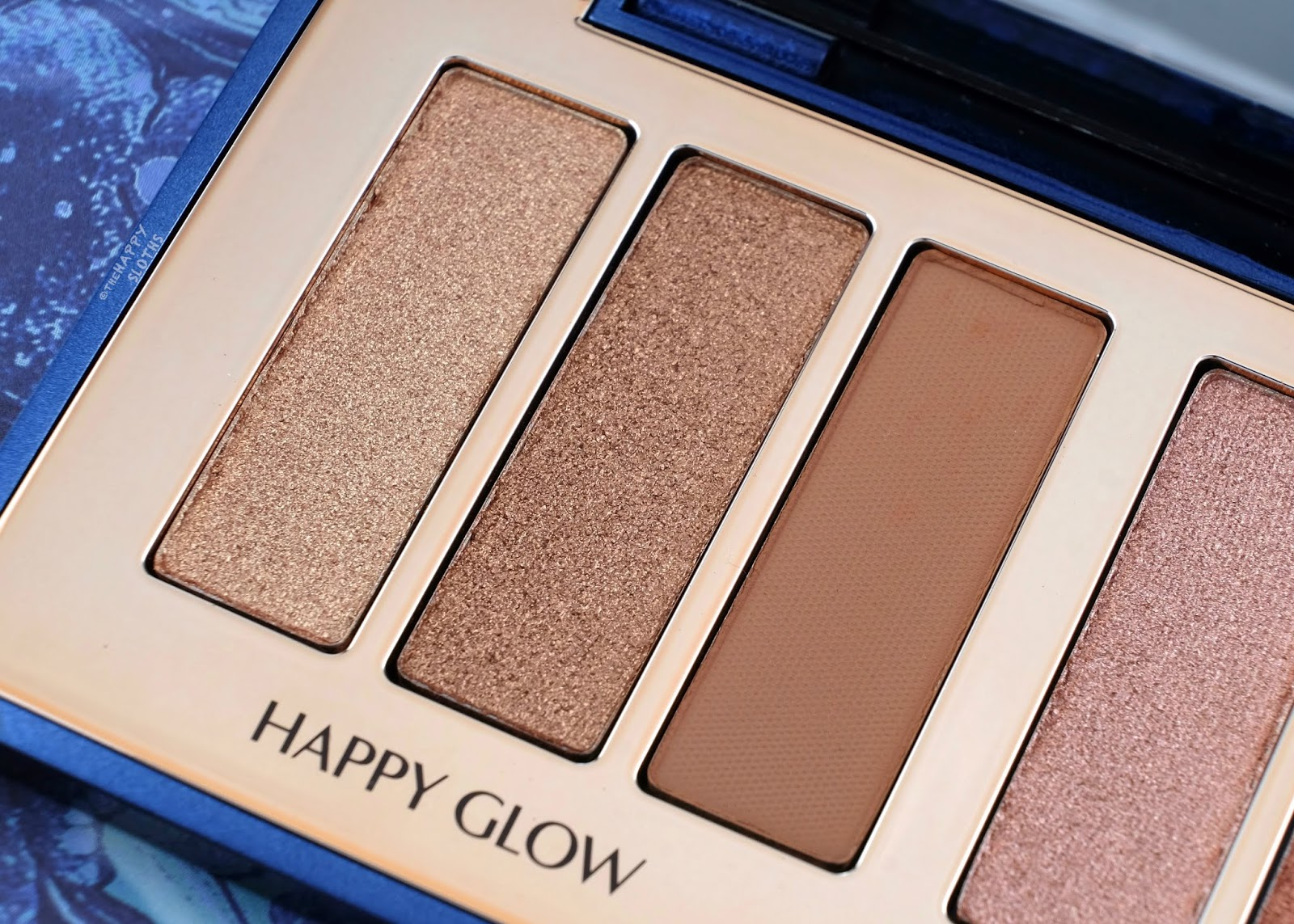 Charlotte Tilbury | Starry Eyes To Hypnotise Eyeshadow Palette | Happy Glow: Review and Swatches