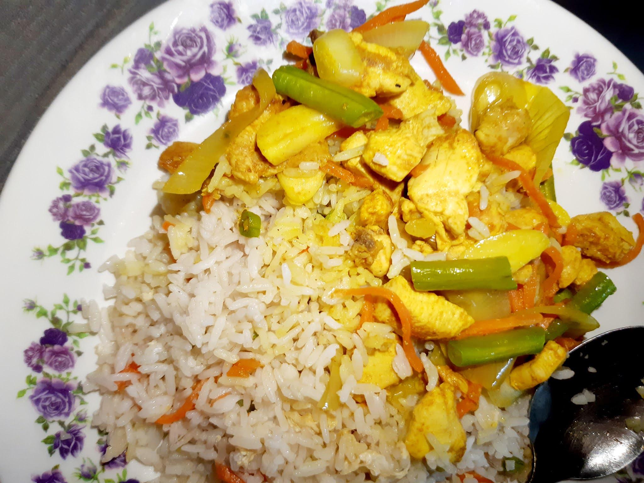 Resepi Nasi Goreng Ayam Kunyit